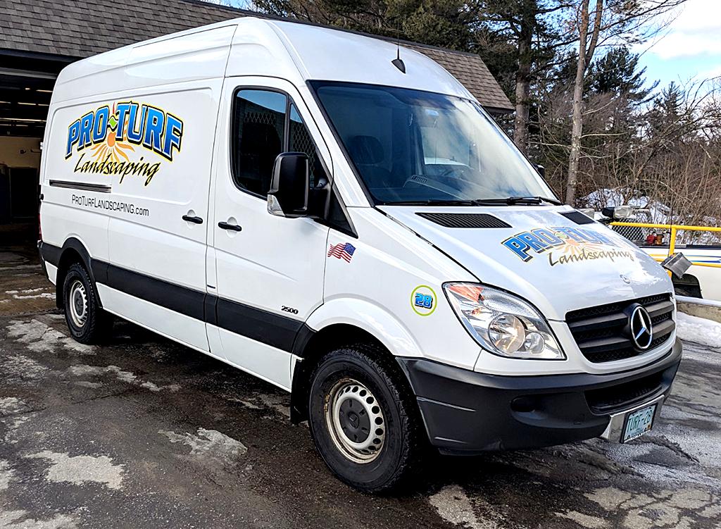 Pro-Turf Sprinkler Service Van